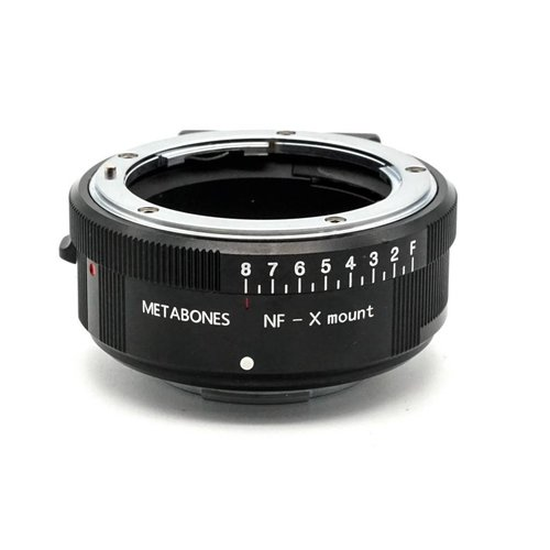 Metabones Nikon G to X-mount (Black)