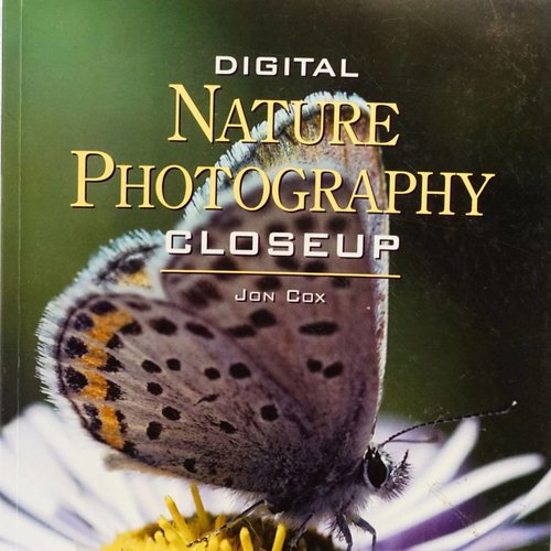 book Digital Nature Photography Closeup By Jon Cox
