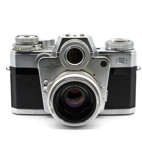 Zeiss Ikon Contarex + 50mm f/2 Planar + 135 f/4 Sonnar x521
