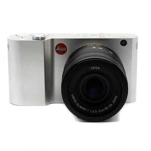 Leica T Typ 701 Silver + 18-55mm Vario Elmarit ASPH