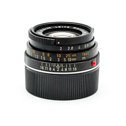 Leica 40mm f/2.0 Summicron C
