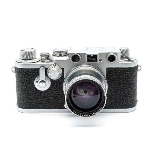 Leica IIIf Red Dial + 5cm (50mm) f/2.0 Summar x530
