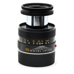 Leica 90mm f/4.0 Macro Elmar Mk1 Outfit