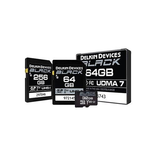 Delkin Devices Black SD Card