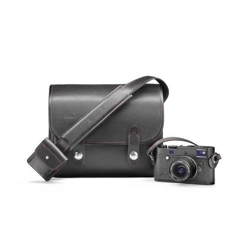 Oberwerth System case set, Oberwerth for Leica, leather/Cordura, black