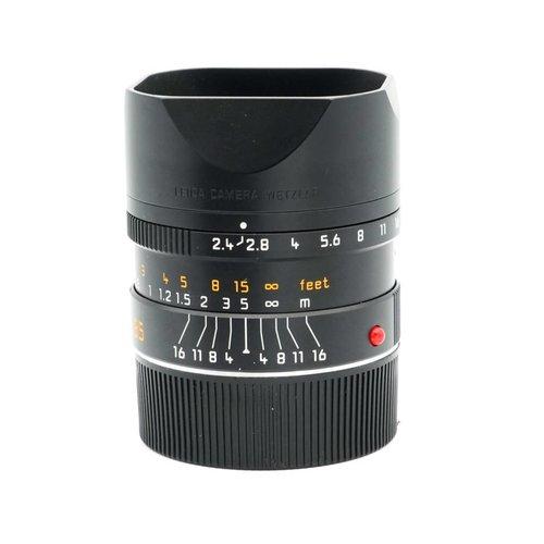 Leica 35mm f/2.4 Summarit M ASPH 6BIT