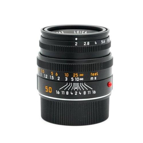 Leica 50mm  f/2.0 Summicron M 6BIT