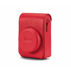 Leica C-Lux Case, Red Leather x591