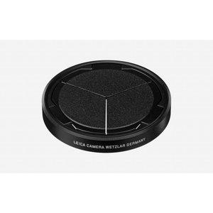 Leica Auto lens cap, silver/black