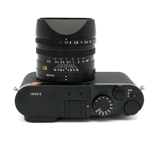 Leica Q (typ 116), Black x624