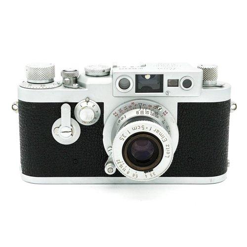 Leica IIIg + 5cm  f/3.5 'Red Scale' Elmar