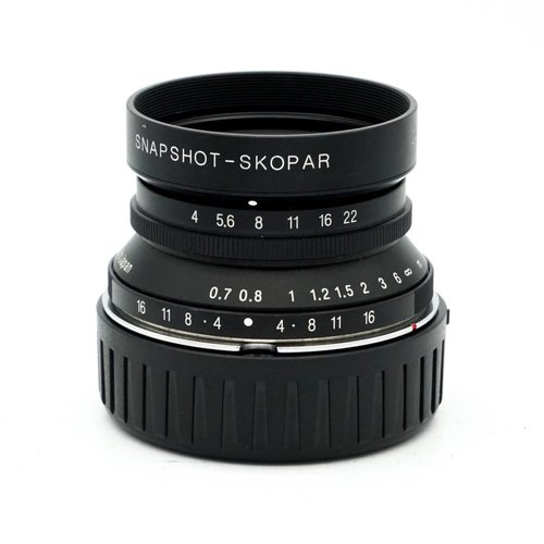 Voigtlander 25mm f/4.0 Snap-Shot Skopar + Finder
