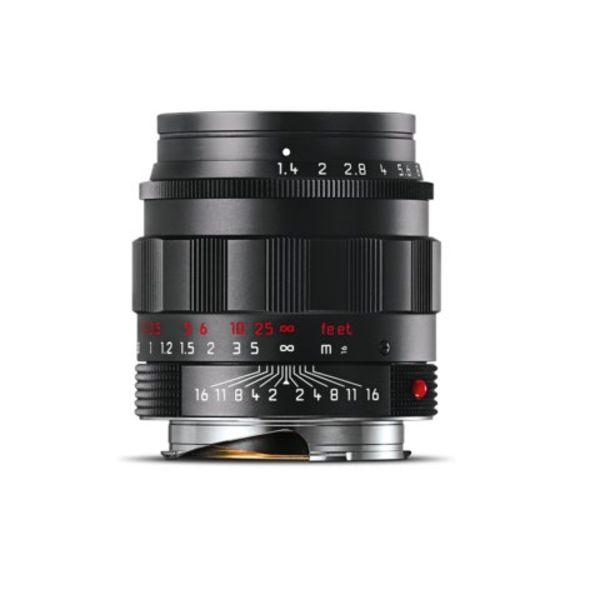 SUMMILUX-M 50 mm f/1.4 ASPH. black chrome finish