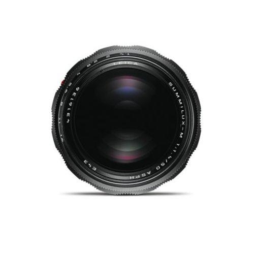 Leica SUMMILUX-M 50 mm f/1.4 ASPH. black chrome finish