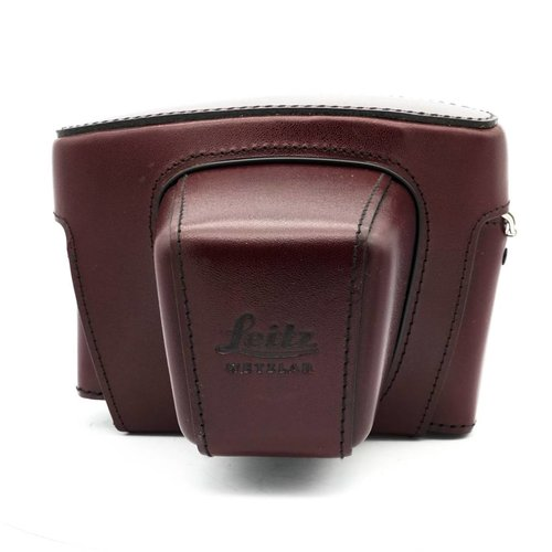 Leica SL2 Hard Case, Burgundy Leather