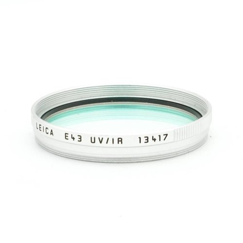 Leica E43 UV/IR Silver (13417)