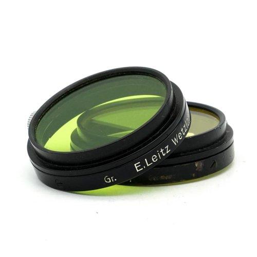 Leica A39 Filter Set, (Yellow & Green)