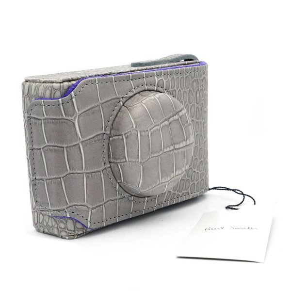Paul Smith Grey Leather Case for D-Lux 3,4 & 5