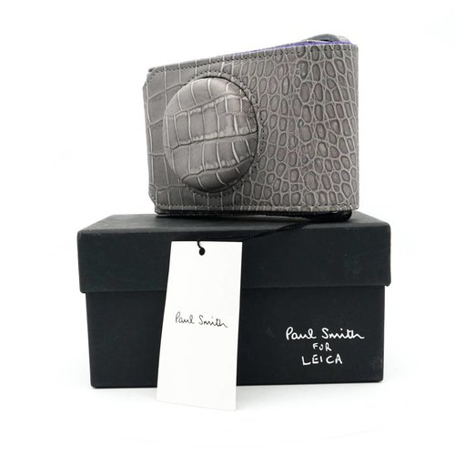 Leica Paul Smith Grey Leather Case for D-Lux 3,4 & 5