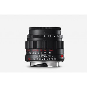 Leica APO-SUMMICRON-M 50 f/2 ASPH., black chrome finish