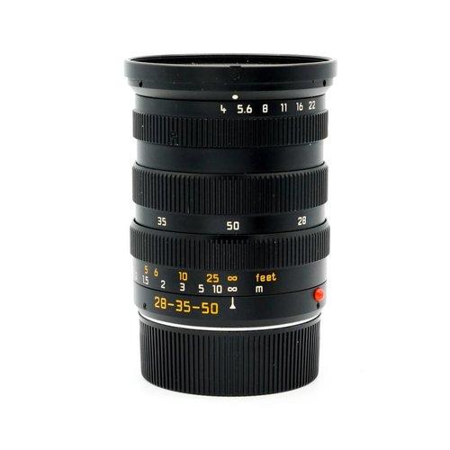 Leica 28-35-50mm f/4.0 Tri-Elmar ASPH
