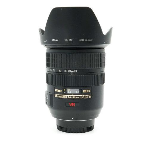Nikon 24-120mm f3.5-5.6 G AF-S VR