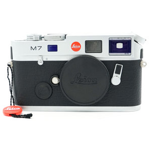 Leica M7 0.72 Silver Chrome Ex-Display