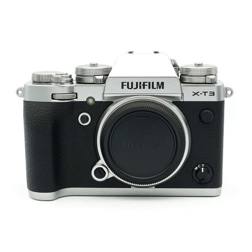 Fuji X-T 3 Silver