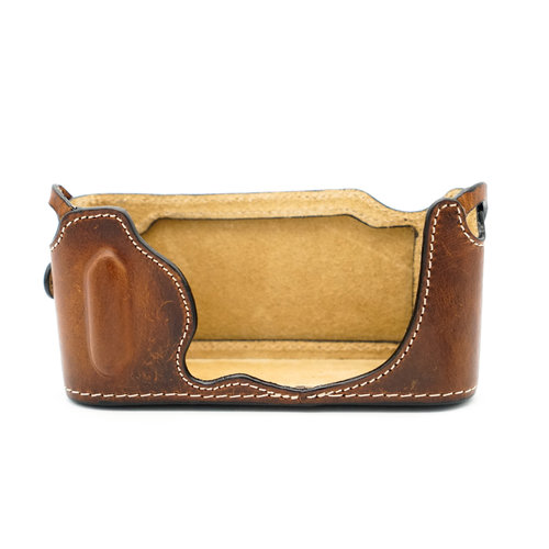 Luigi Leather Protector & Strap CL, Brown x760