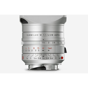 Leica SUMMILUX-M 28 f/1.4 ASPH., silver anodized finish