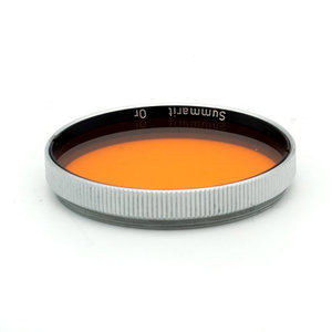 Leica Summarit Orange Filter