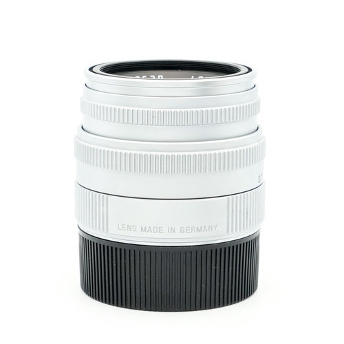 Leica 50mm f/2 Summicron Silver Chrome