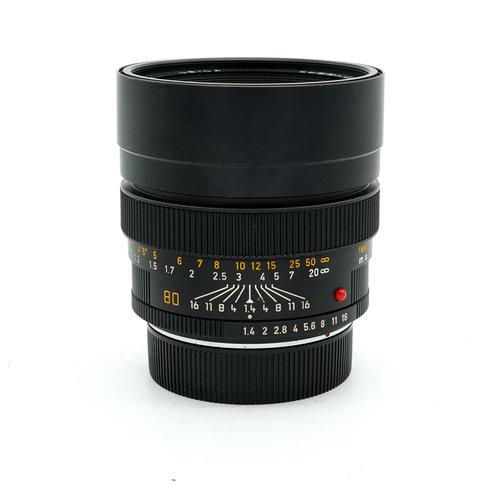 Leica 80mm f/1.4 Summilux R