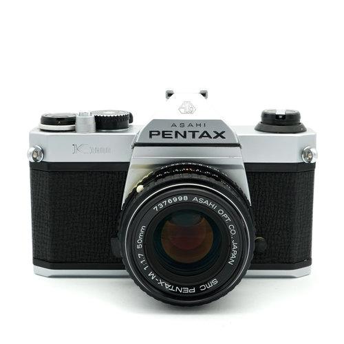 Pentax K1000 + 50mm Pentax SMC Lens
