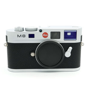 Leica M8.2 Silver Chrome