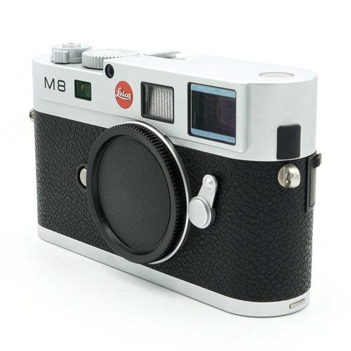 Leica M8.2 Silver Chrome