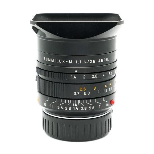 Leica 28mm f/1.4 Summilux ASPH 6BIT