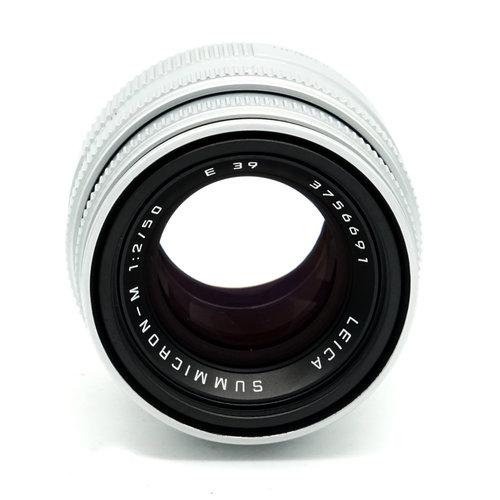 Leica 50mm f/2.0 Summicron Chrome