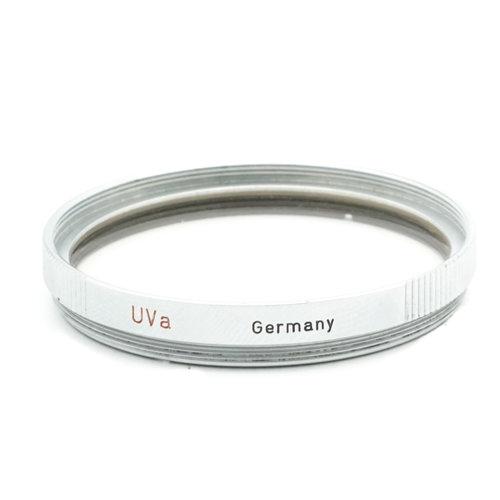 Leica E39 UVa Filter Silver