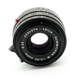 Leica 35mm f/2.0 Summicron M ASPH 6BIT