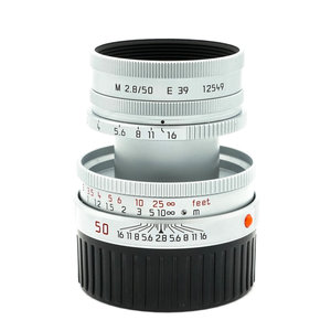 Leica 50mm f/2.8 Collapsible Elmar MkII x847