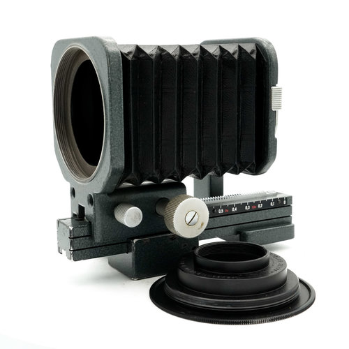 Leica Bellows Unit with 90mm/65mm Screw Plate