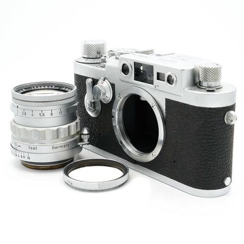 Leica IIIg + 50mm f/2.0 Ridged Summicron