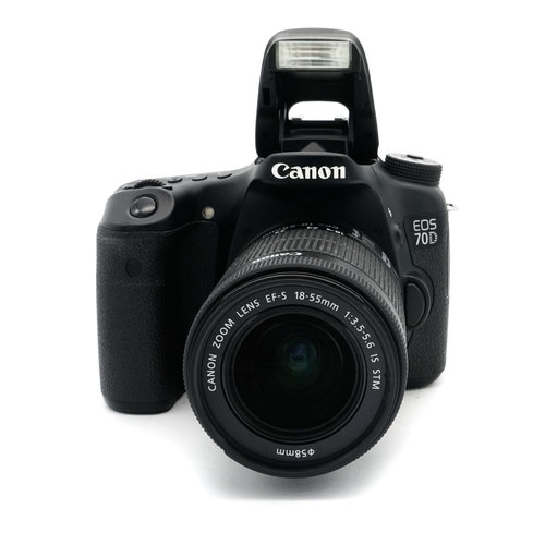 Canon EOS 70D + 18mm-55mm STM Kit