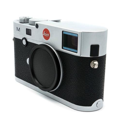 Leica M  (Typ 240), silver chrome finish