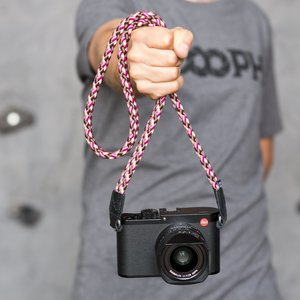 Cooph GmbH Braid Camera Strap Cherry Chocolate