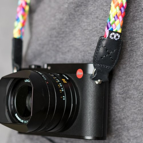 Cooph GmbH Braid Camera Strap Rainbow