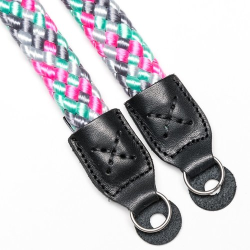 Cooph GmbH Braid Camera Strap Icemint/Pink