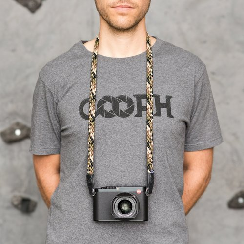 Cooph GmbH Braid Camera Strap Camouflage