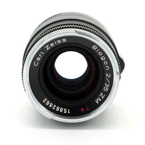Zeiss 35mm f/2.0 Biogon ZM T* x929